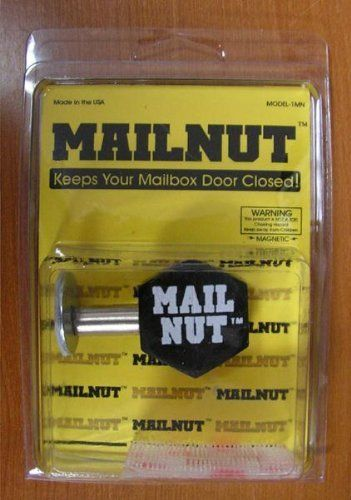 Mail Nut - Keeps Your Mailbox Door Closed by Private Label. $19.99. For MailNutTM & Mail Nut - Keeps Your Mailbox Door Closed by Private Label. $19.99 ...