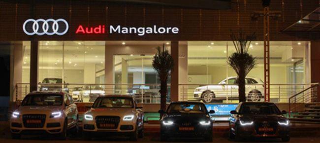 Audi India Inaugurates New Showroom In Mangalore AudiIndia Audi - Audi car maker