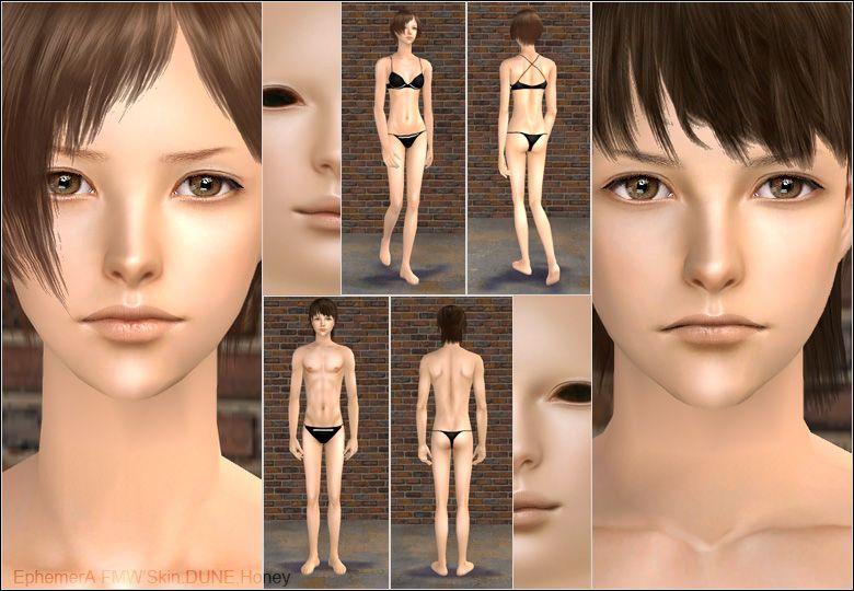 Sims2 skin Nude Photos 31