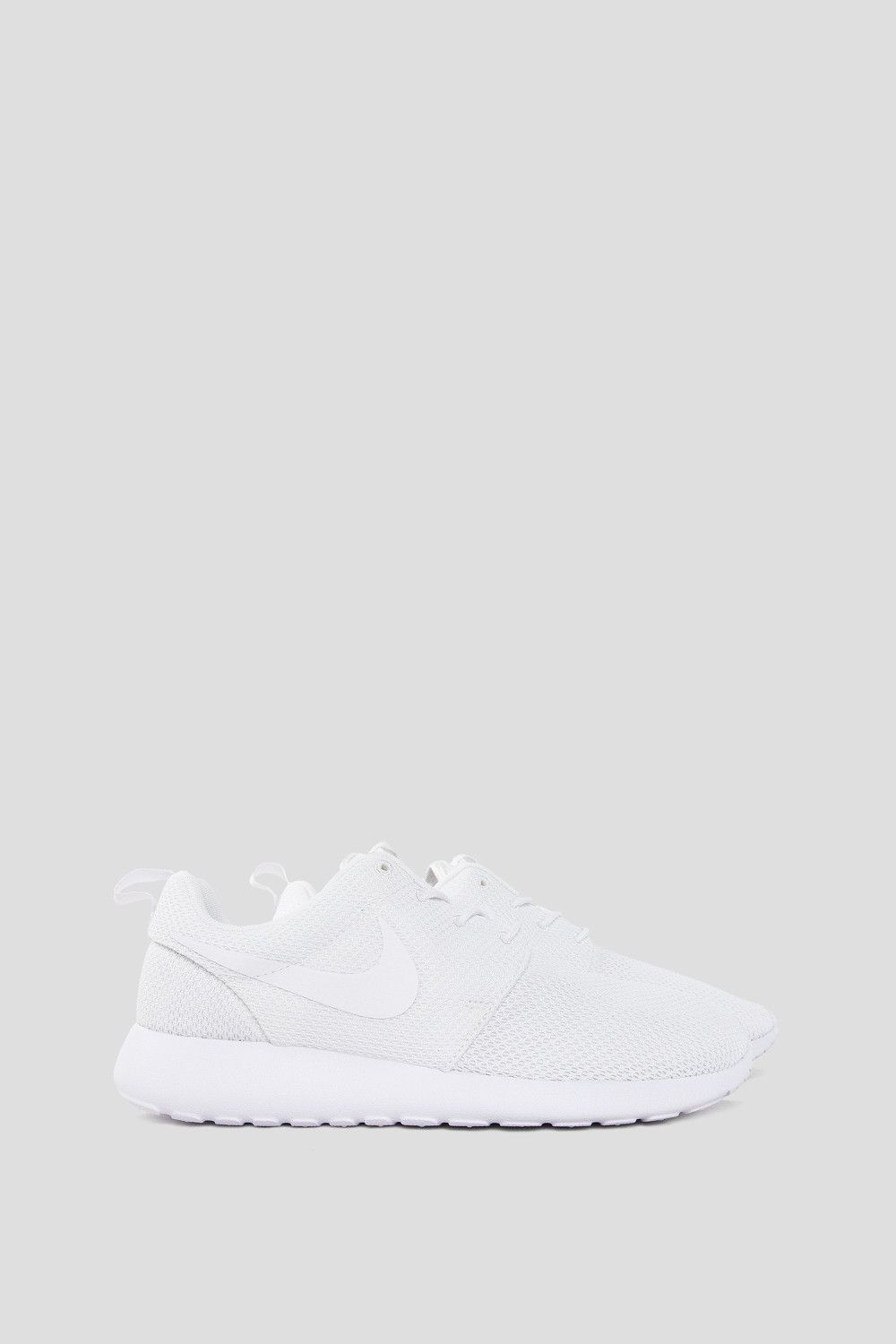 569cdb31411e ... the Nike Roshe One Mens Shoe offers breathability and lightweight  impact protection. - Product Code  511881-112 - Color  White   Black -  Metallic Sil