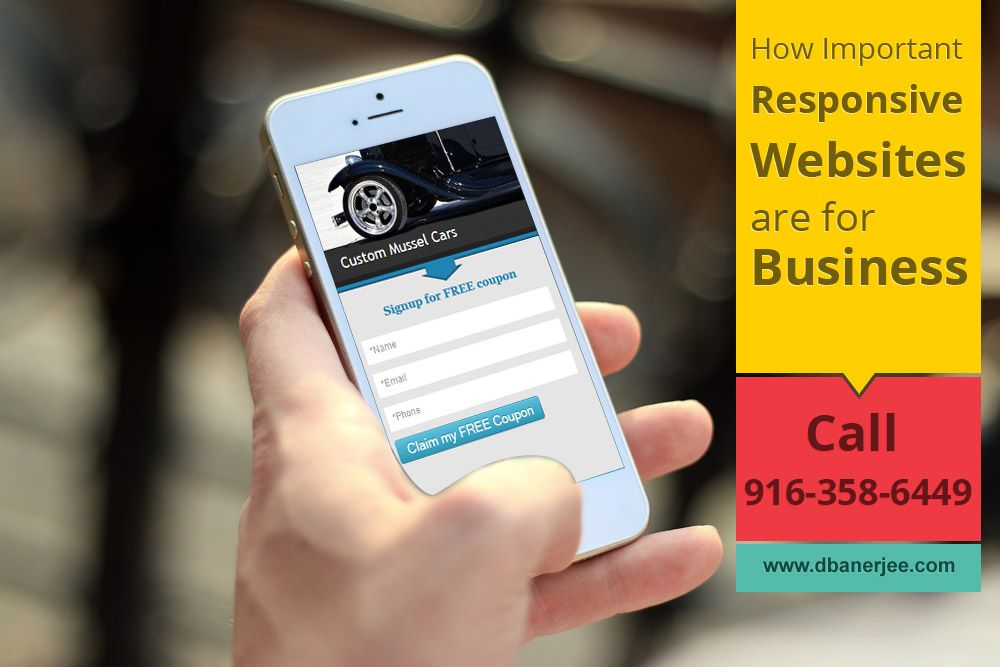 How Important Responsive Websites are for Business http