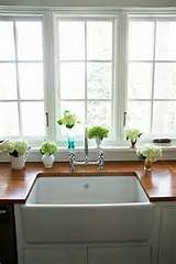 removable butcher- block sink cover