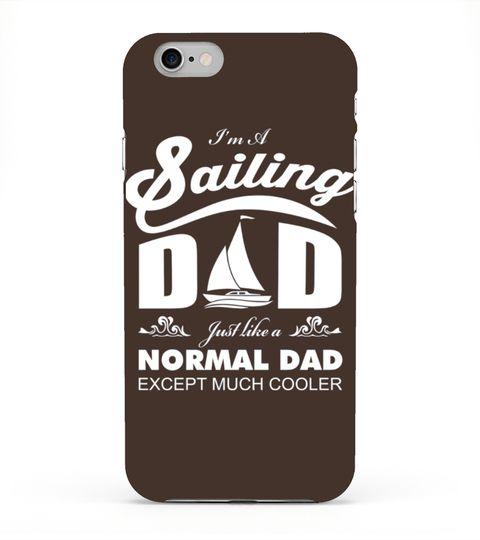 c86d331e Men S Quot I M A Sailing Dad Just Like A Normal Dad Quot T-shirt ...