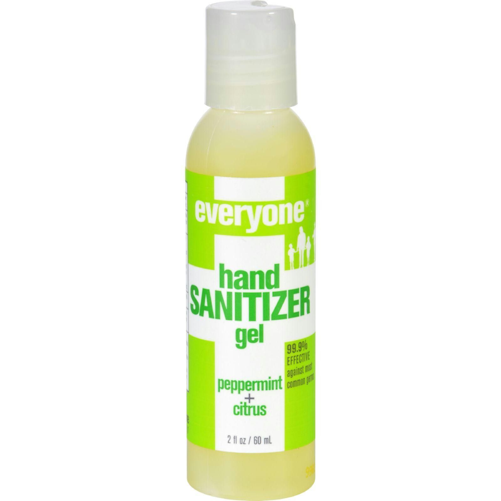 Eo Products Hand Sanitizer Gel Everyone Peppermnt Dsp 2 Oz