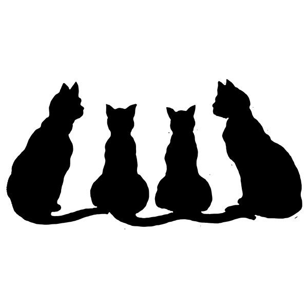 Tubes Halloween Black Cat Pictures Cat Silhouette Black Cat Art