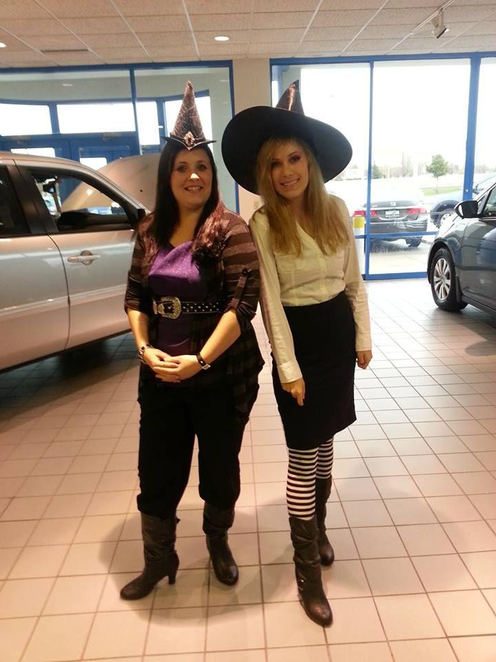 Candice Zona Jessica Pautsch As Wicked Witches Of Exit 116 Bergstrom Honda Nissan Subaru Of Oshkosh At Happy Halloween From Bergstrom Automotive Wicke