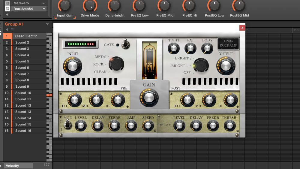 Linda Audio Releases Rockamp Free Vst Guitar Amp Simulator Guitar Amp Audio Guitar