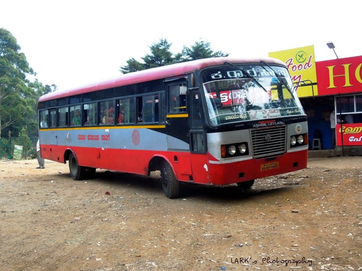 Ksrtc Interstate Ka09 F 4930 Ooty Mysore Via Gudalur