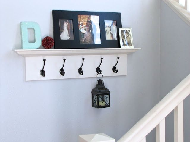 Picture Ledge With Hooks Under Use Ikea And Place At Same Height As Drawer Unit