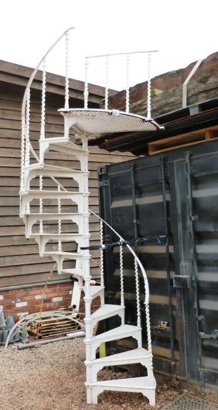 Best Antique Cast Iron Spiral Staircase Antique Cast Iron 640 x 480