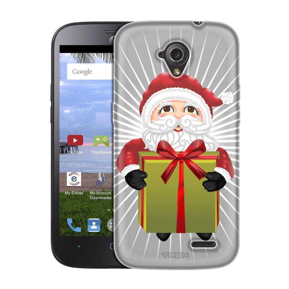 ZTE AllStar Chubby Santa With Gift Trans Case