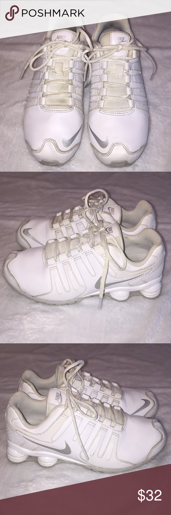 f5866c073d4d7d Boys Nike Shox athletic shoes size 3 youth. This is a pair of boys Nike