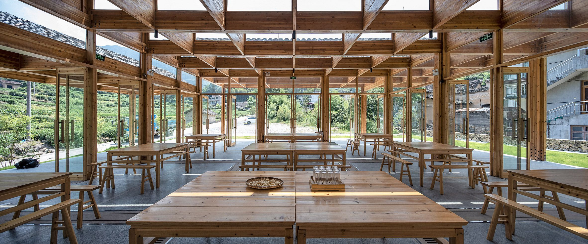 DnA_Design and Architecture builds tofu factory in Chinese