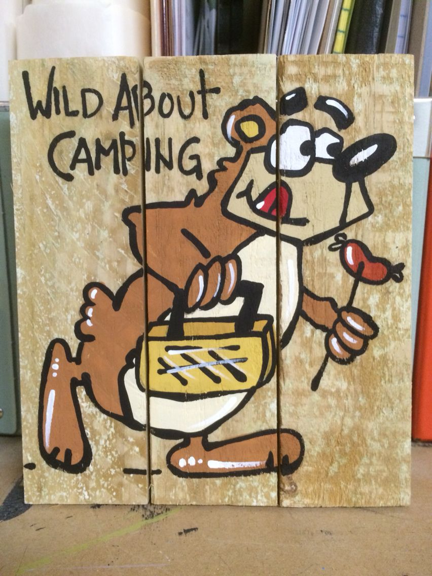 Wild about camping