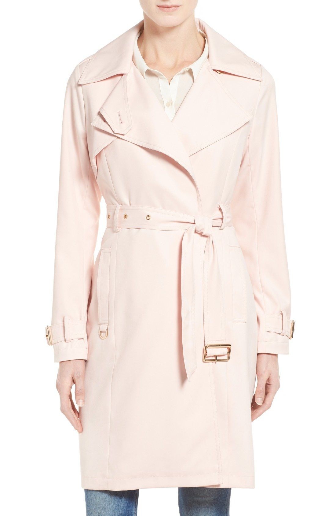 French Connection Twill Trench Coat available at #Nordstrom