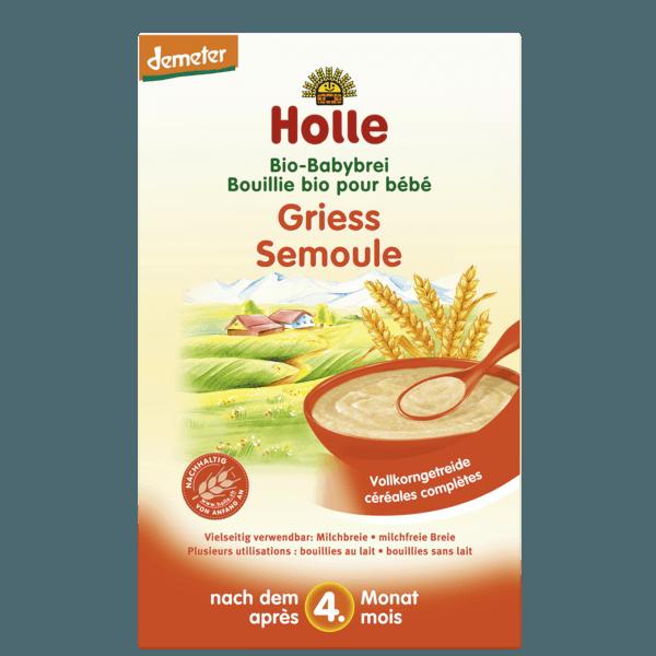 Holle Organic Semolina Porridge 250g 4 Months Formuland Baby Food Recipes Baby Food Processor Baby Food Jar Crafts