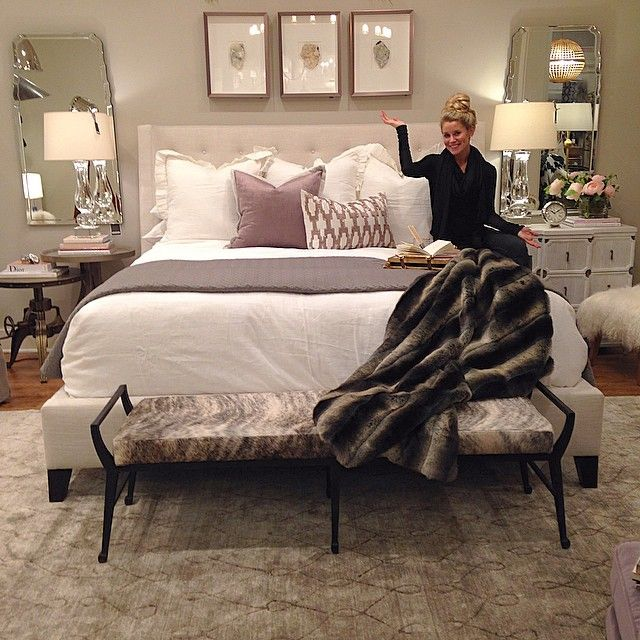 Designed My Bedroom Today At Work. Chic, Clean, And A Touch Of Barbieu0027s · Master  RoomRelaxing ...
