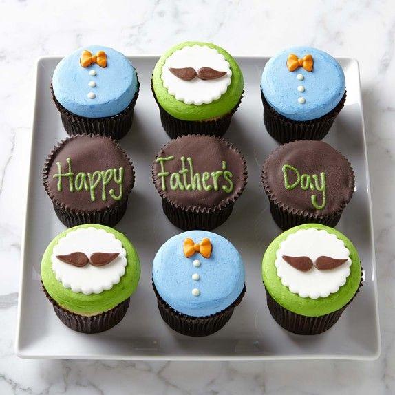 Father S Day Cupcakes Williams Sonoma Pastel Dia Del Padre