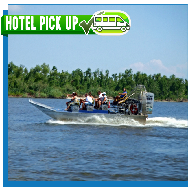 New Orleans Swamp Airboat Tour 16 Passenger Airboat