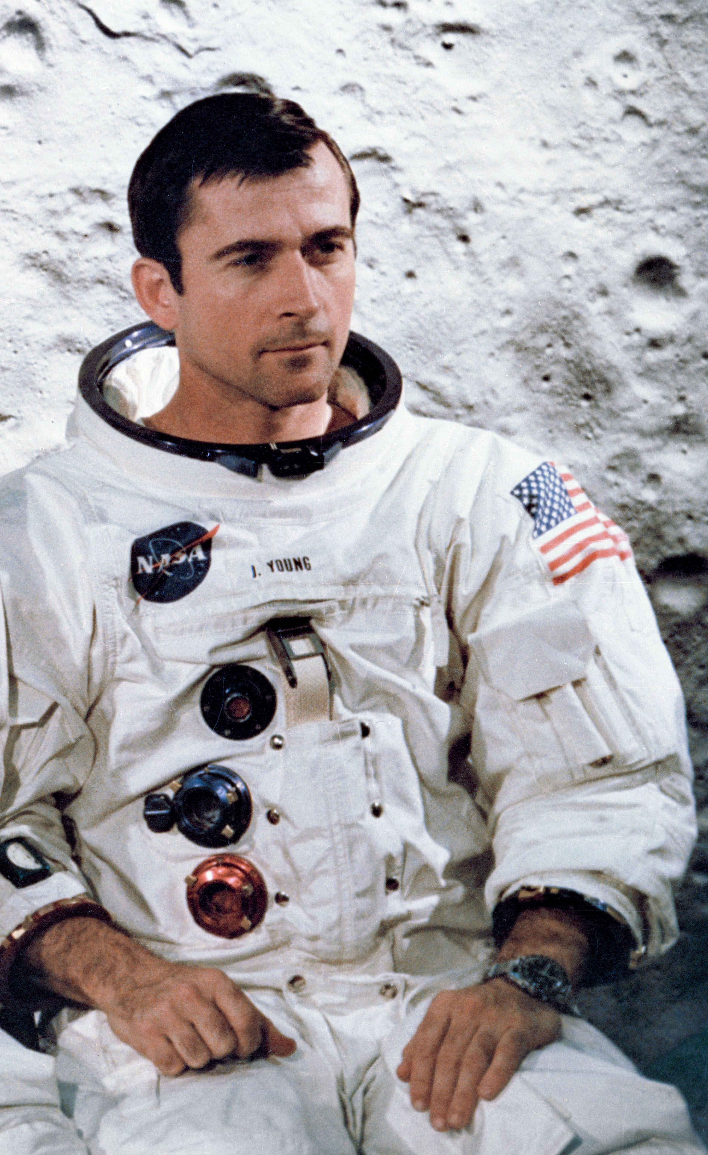 Significant Sig, John W. Young. On his trip to the moon he ...