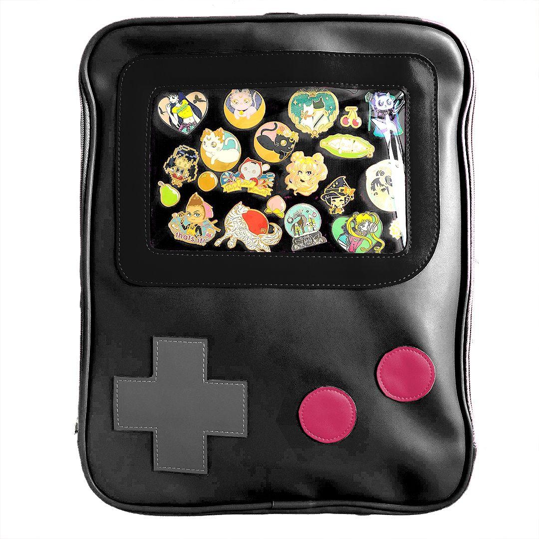 Game Guy Windowed Pin Bag   Bags/Purses in 2019   Bags, Kawaii bags