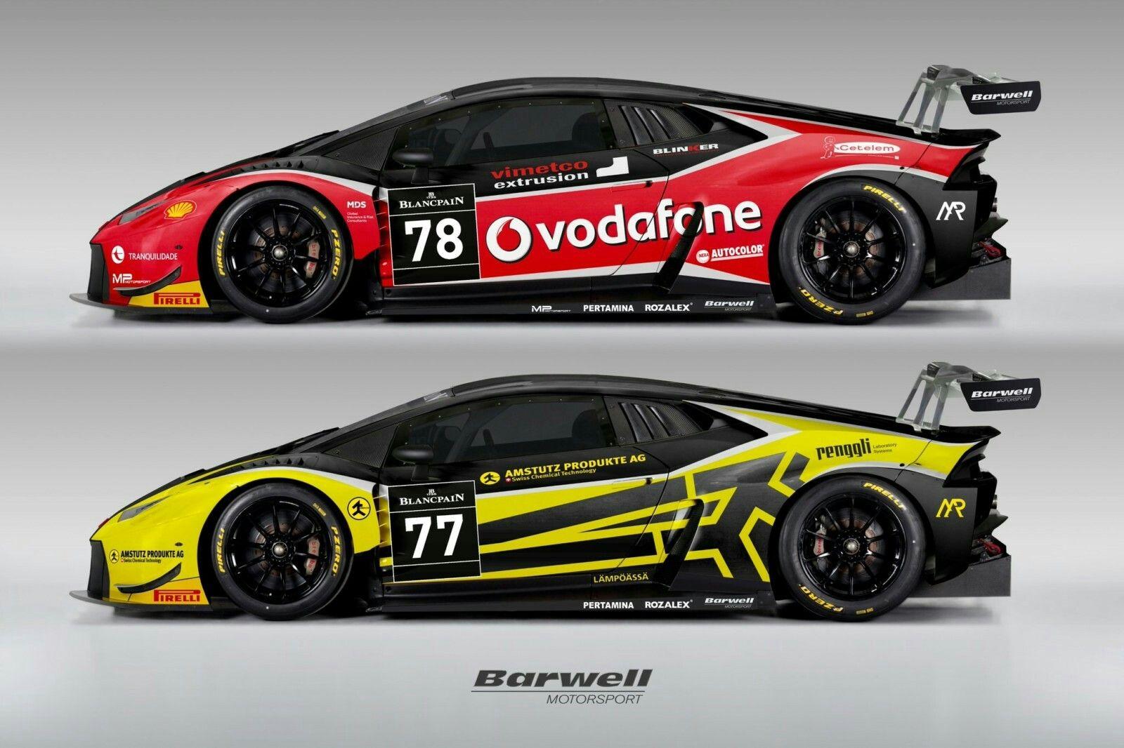 Barwell Motorsport Avec Deux Lamborghini Huracan Actu Moteurs Com