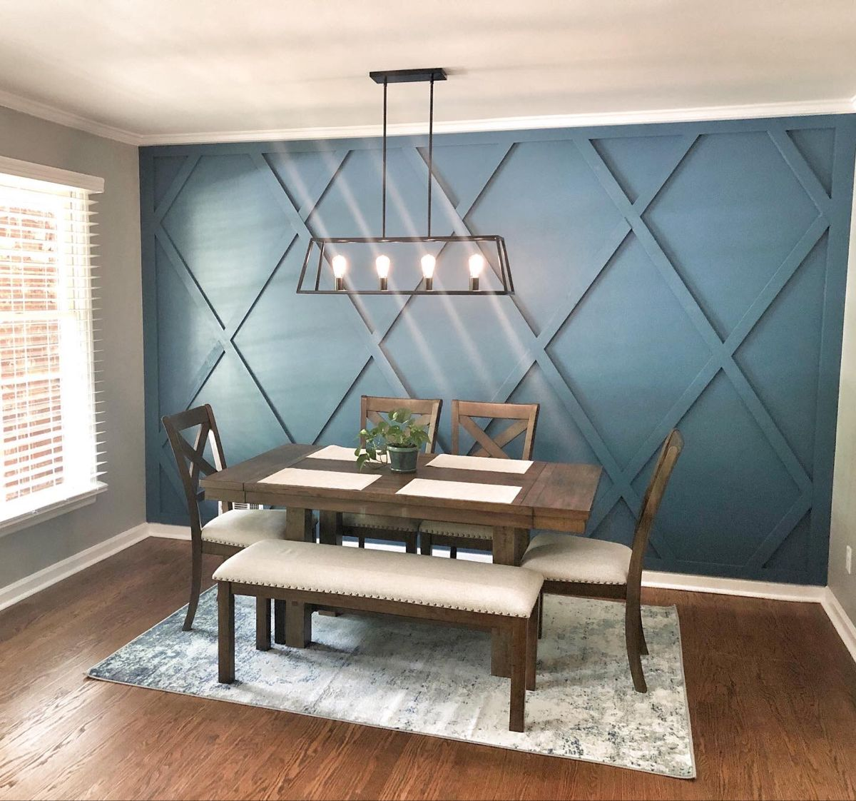 3d wood accent wall in 2020 dining room accents dining on accent wall ideas id=41293