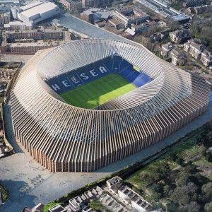 Herzog De Meuron Reveals Latest Plans For Chelsea Football Stadium Redesign Chelsea Stadium Stadium Design Stadium Architecture