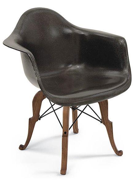 Fiberglass Shell Chair - Prince Charles Arm Shell - Modernica