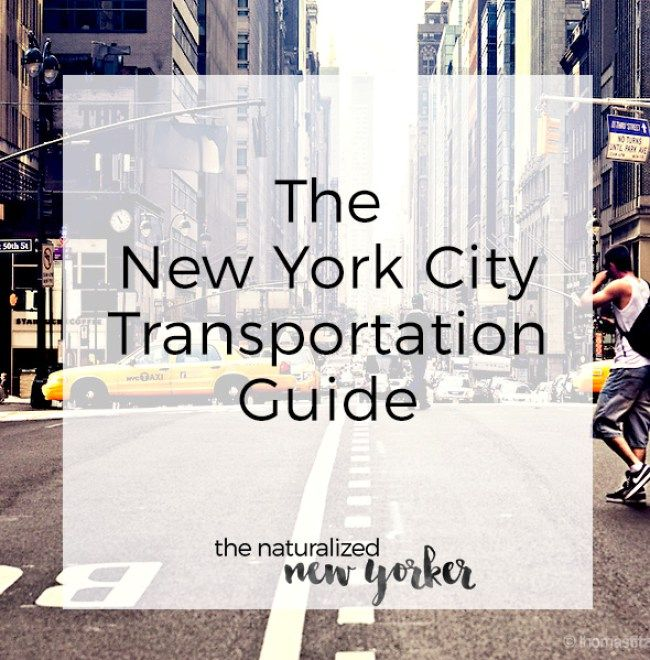 Tips and tricks on how to get around in New York City