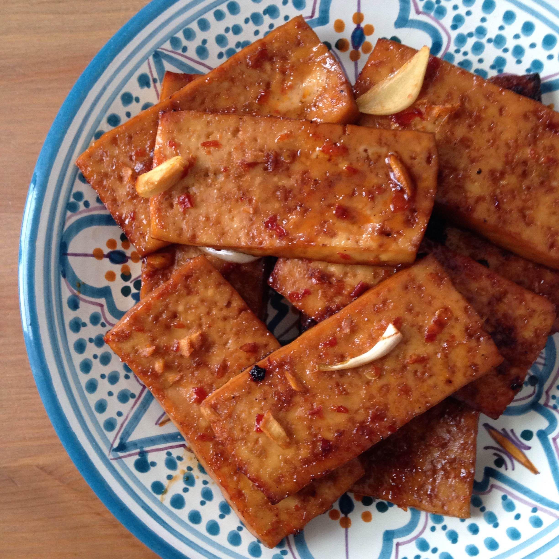 Game-Changing Ginger-Sesame Baked Tofu   Health Nut   Baked