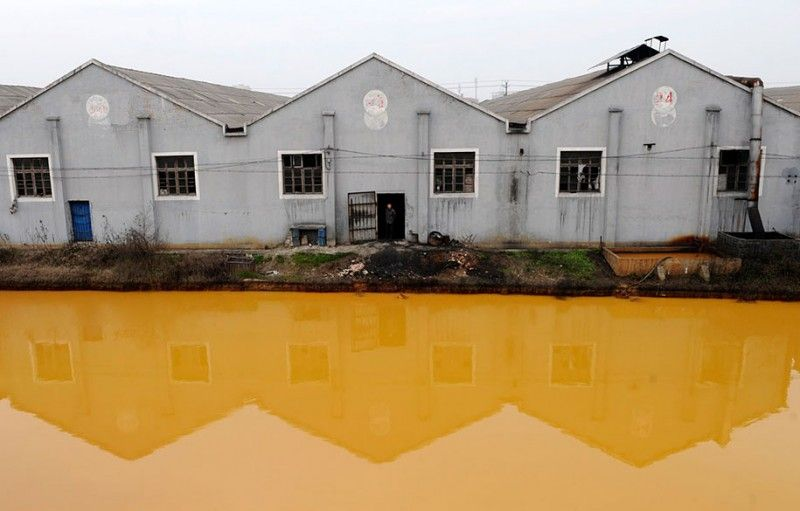 Shocking photos representing serious pollution problems in China | Vuing.com