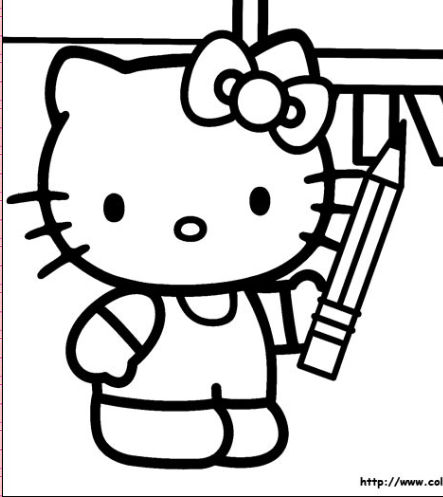 Hello Kitty Coloring Pages Butterfly Coloring Sheets Kitty Coloring Pagescoloring Pages Prin Hello Kitty Colouring Pages Hello Kitty Coloring Kitty Coloring
