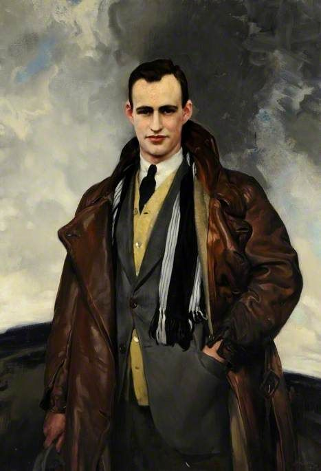 David Jagger - Portrait of a Man. Oil on canvas, 127.6 x 88.4 cm. Museums Sheffield. (English, 1891-1958)