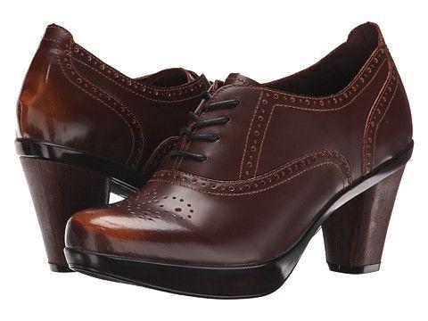 Sanita Betsey Brown Brush-Off Leather - Zappos.com Free Shipping BOTH Ways  · High Heel ...