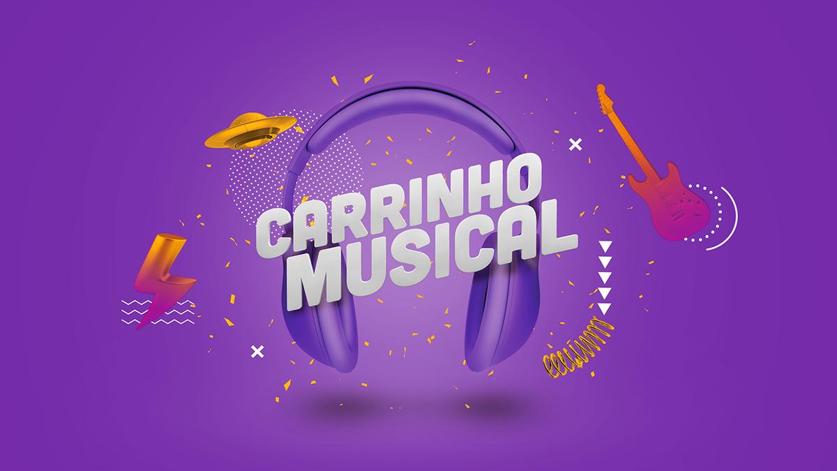 Carrinho Musical on Behance