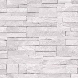 Grandeco Stone Brick Effect Wallpaper In White A17201 Brick Effect Wallpaper Stone Wallpaper Brick Wallpaper