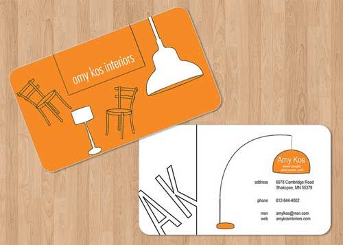 17 Interior Designer Business Cards Interior Designer Business