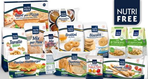 Concorso Nutrifree vinci fornitura di prodotti o cuscino