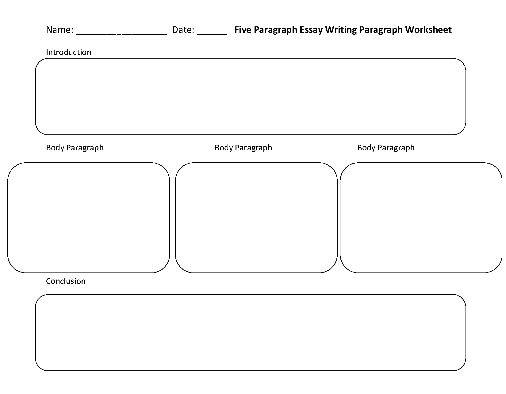 Five Paragraph Essay Writing Worksheets Writing Worksheets Paragraph Writing Worksheets Paragraph Writing [ 1284 x 1650 Pixel ]