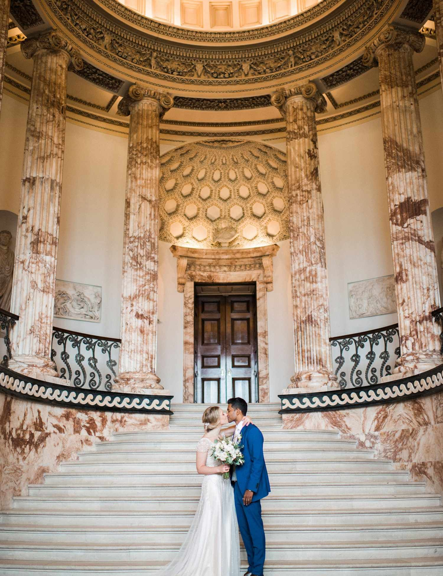 Real Wedding: An elegant day at Holkham Hall with a Maggie Sottero wedding dress