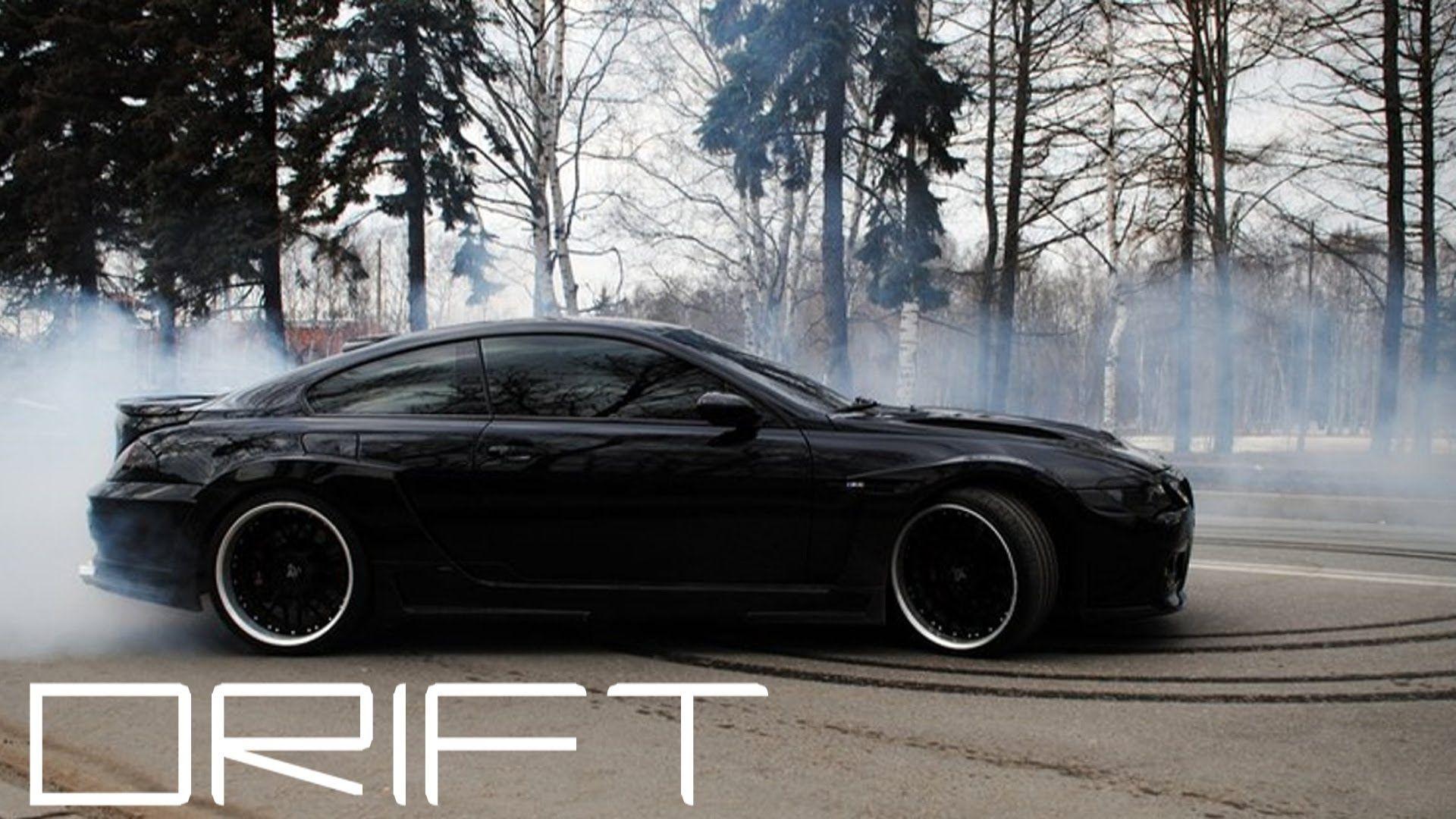 Crazy Hamann Bmw M6 Drift Donuts Powerslides Revs Wheelspins 1080p Hd Bmw M6 Bmw Car Backgrounds