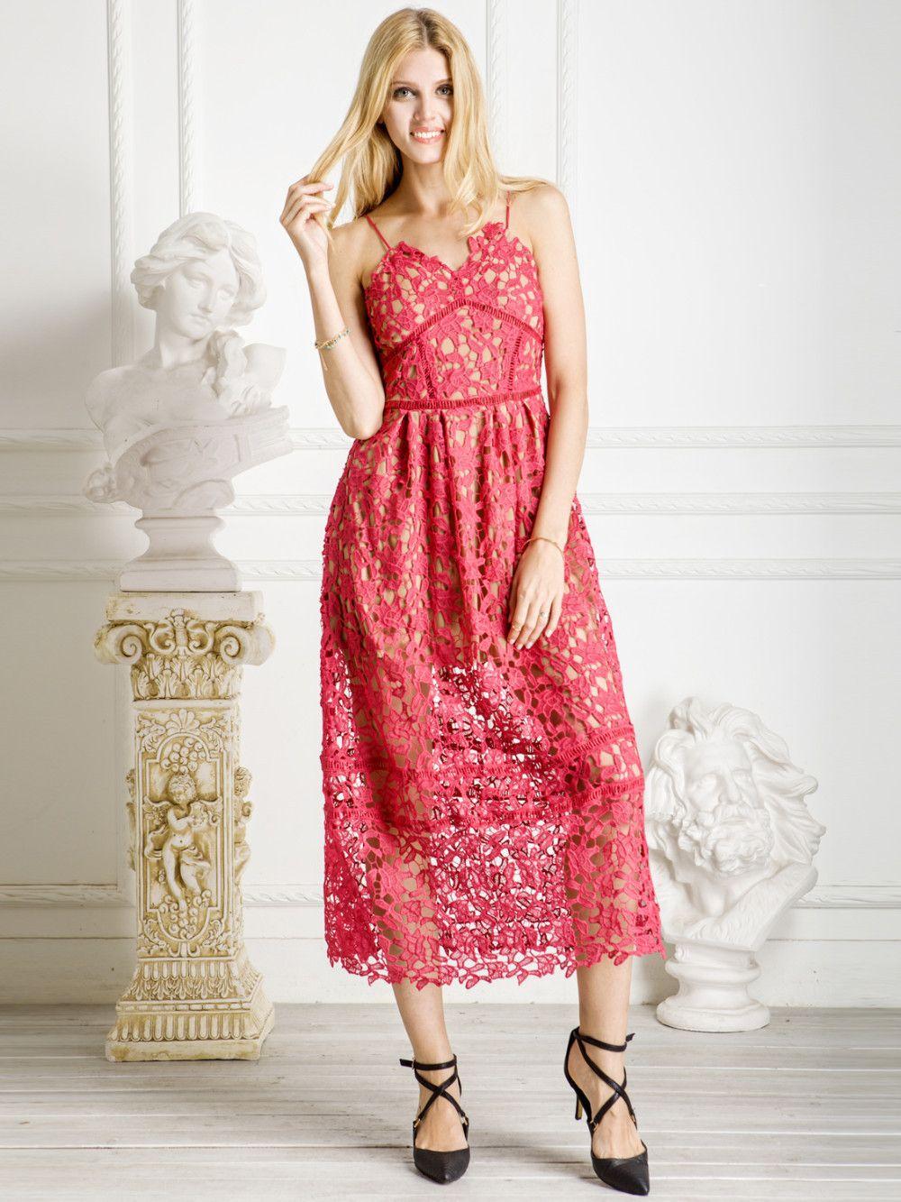 Correa de espagueti del vestido, mujeres del estilo del verano V ...