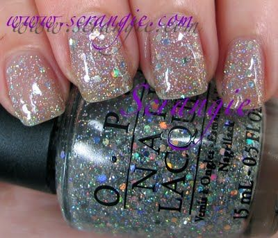 Opi Serena Williams Glam Slam Collection Servin Up Sparkle