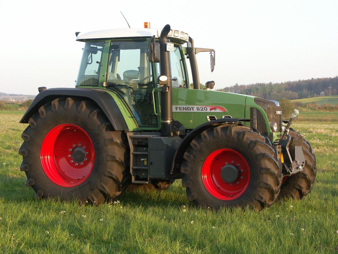 Fendt 820 Vario Fendt Fendt 820 Traktoren