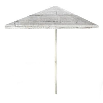 Best of Times 6' Cinderblock Square Patio Umbrella