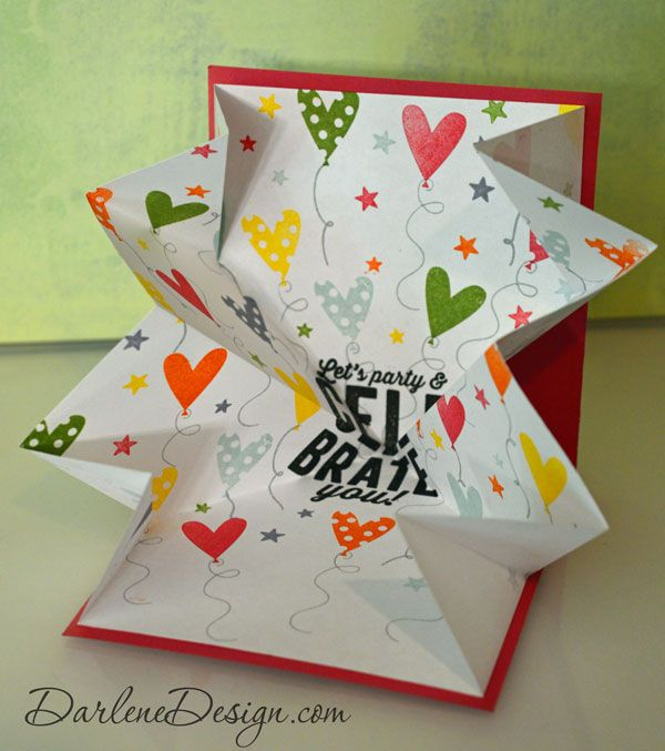 Explosion Card Technique Fun Fold Cards Fancy Fold Cards