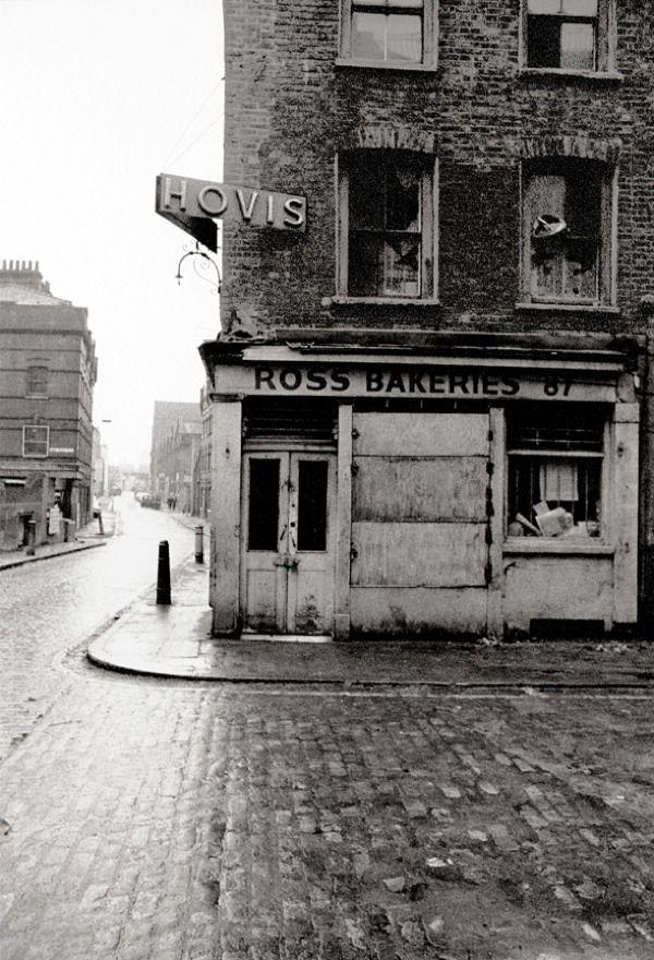 East End London: ROSS BAKERIES. E.1-66 From Photographer John Claridge's