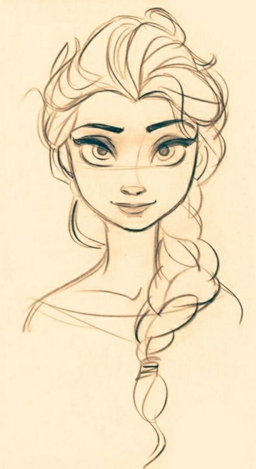 Elsa Is My Favorite I Love Her Braid I Love Her Outfit And Her Personality Disney Drawings Disney Concept Art Disney Art