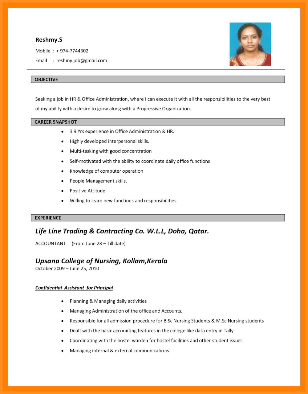 Marriage Cv Template Doc 2019 Marriage Cv Template Download 2020 Marriage Resume Template Wedding Cv Te Bio Data For Marriage Resume Format Job Resume Template